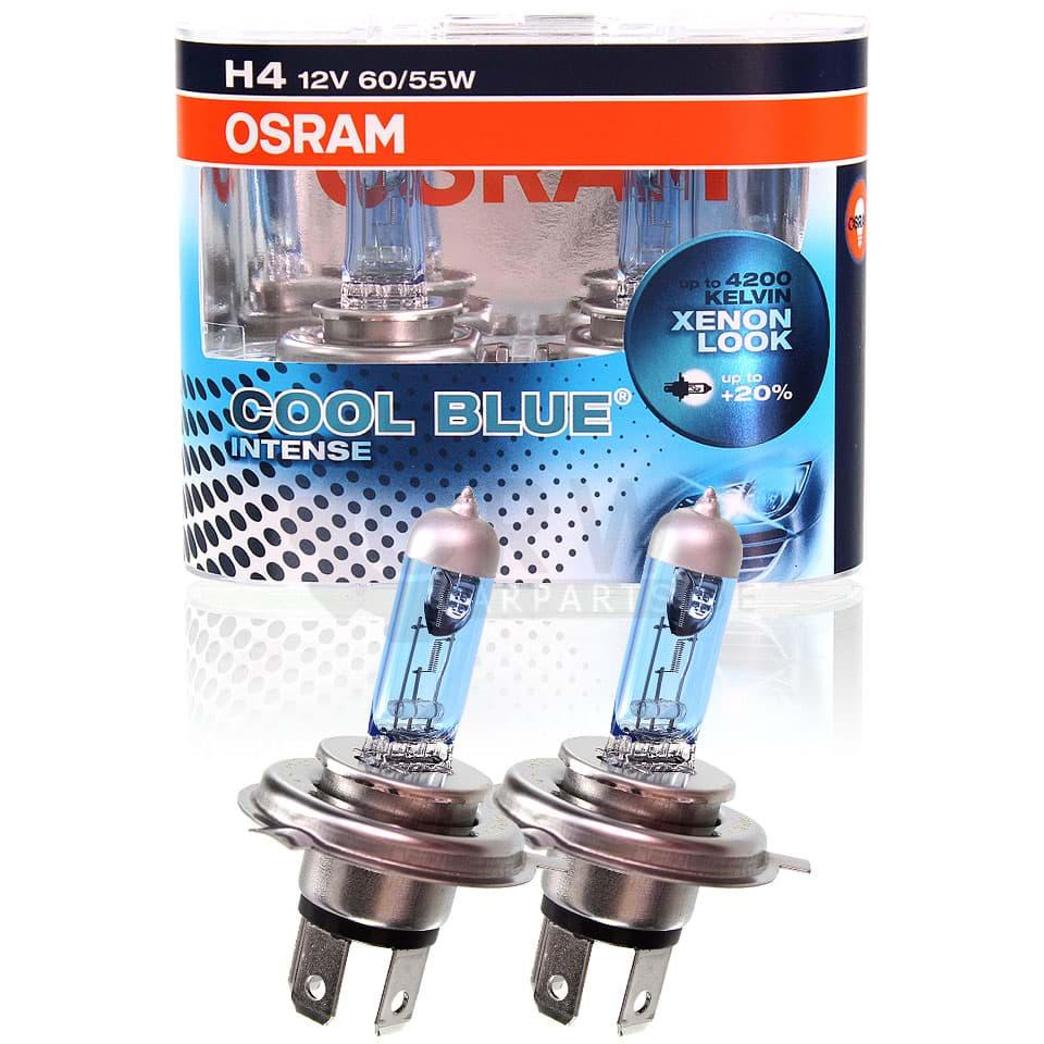2er Set H4 60W 55W Xenon Style// Look Lampen Weiß Halogen Birnen Autolampe Ford