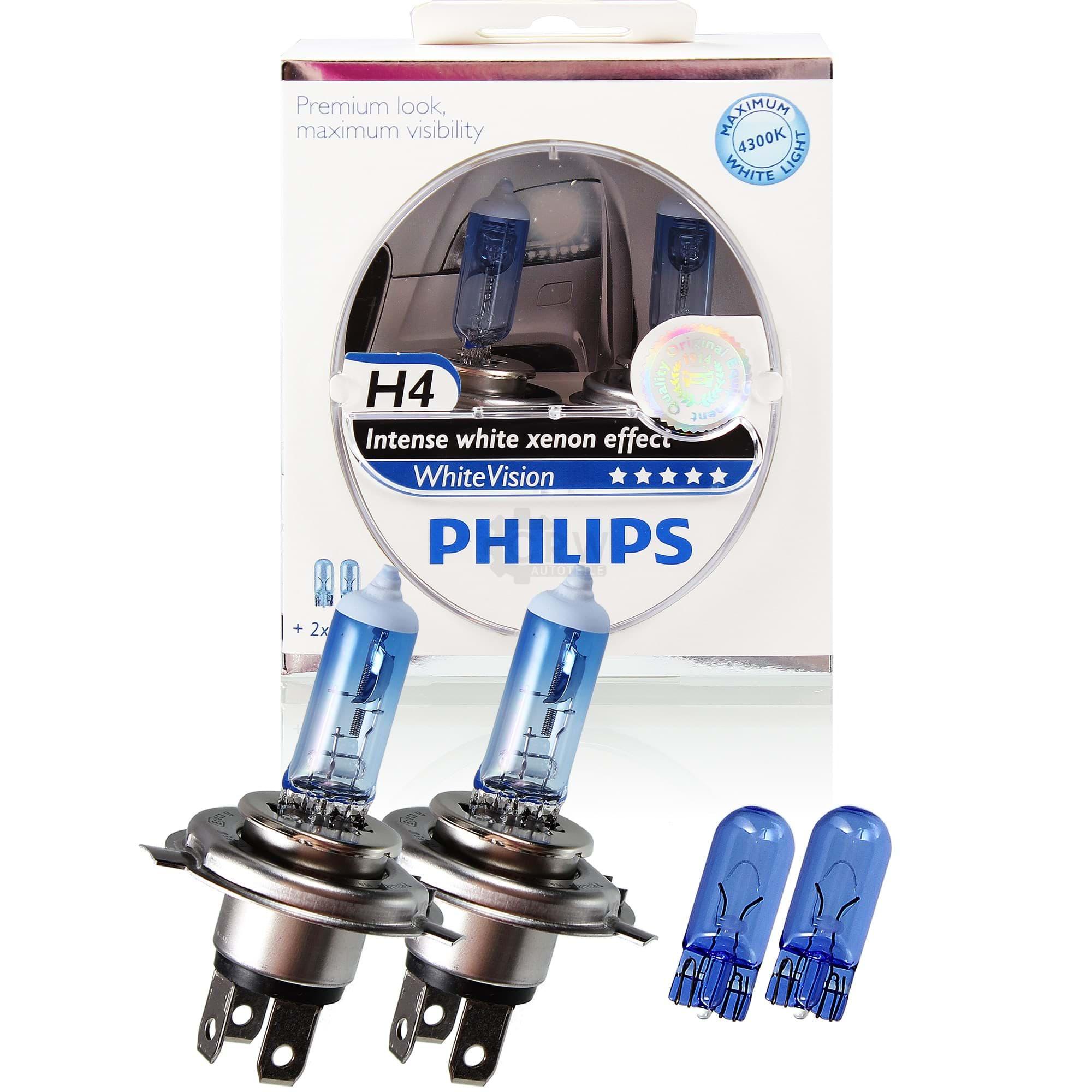 2x Birne//Lampe Scheinwerfer 12V 60//55W H4 P43t