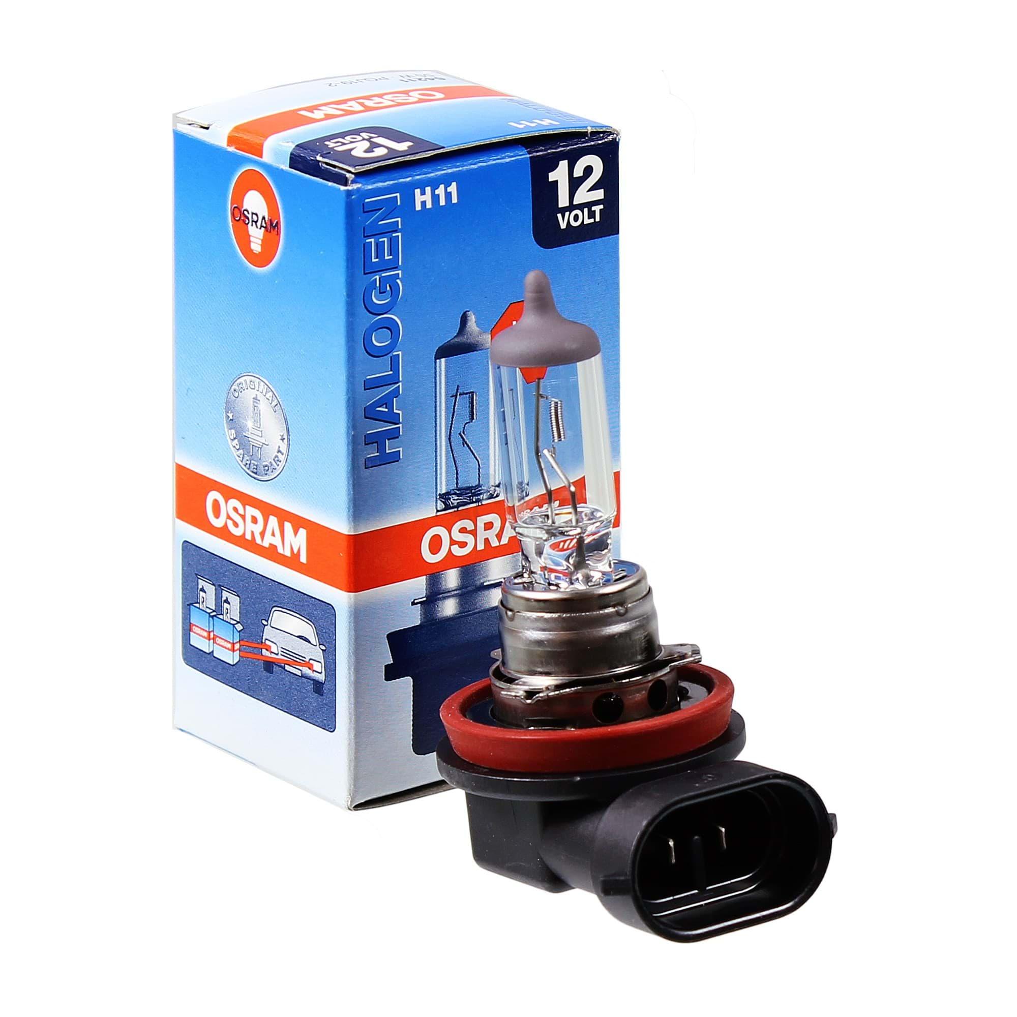 Glühlampe Glühbirne OSRAM H11 55W//12V Sockelausführung PGJ19-2 64211