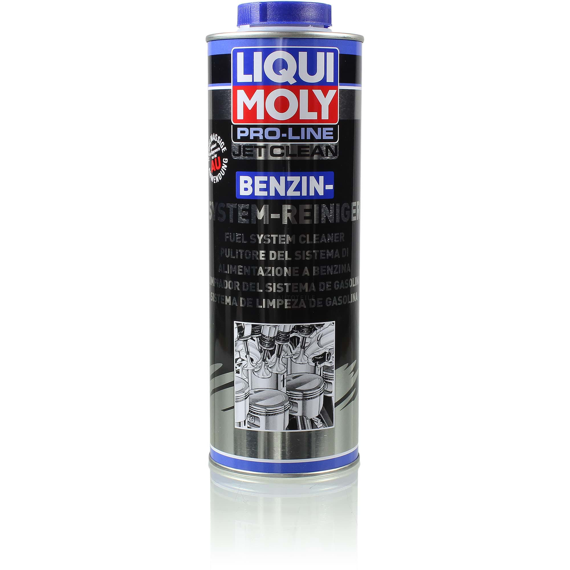 liqui moly 5147 pro line jetclean benzin system reiniger dose blech 1l autoteile f r pkw und. Black Bedroom Furniture Sets. Home Design Ideas