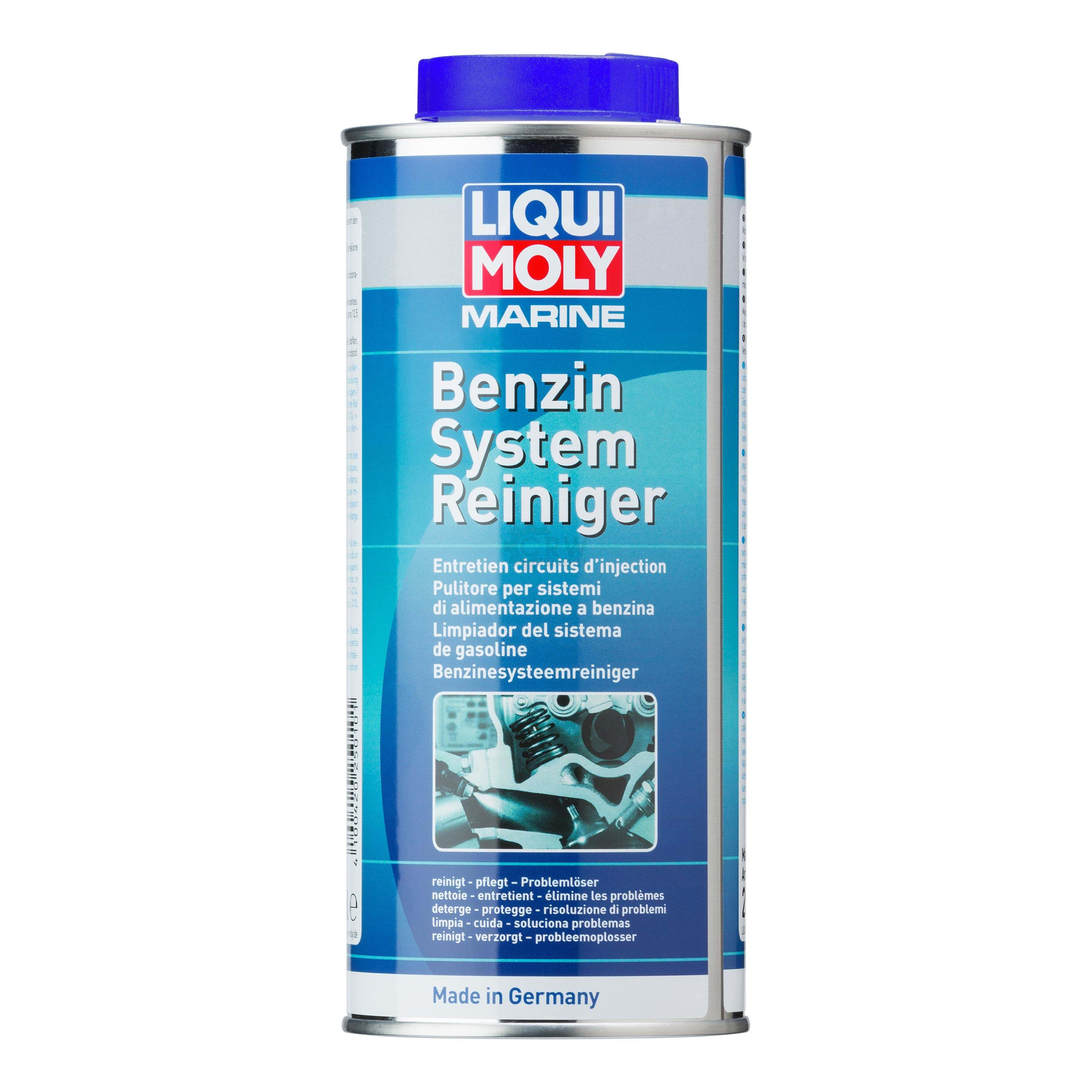 liqui moly 25010 marine benzin system reiniger fuel system cleaner 500 ml autoteile f r pkw. Black Bedroom Furniture Sets. Home Design Ideas