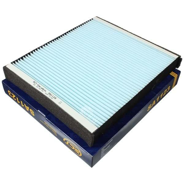 2xOriginal SCT Filter Innenraumluft Pollenfilter Innenraumfilter SA 1123