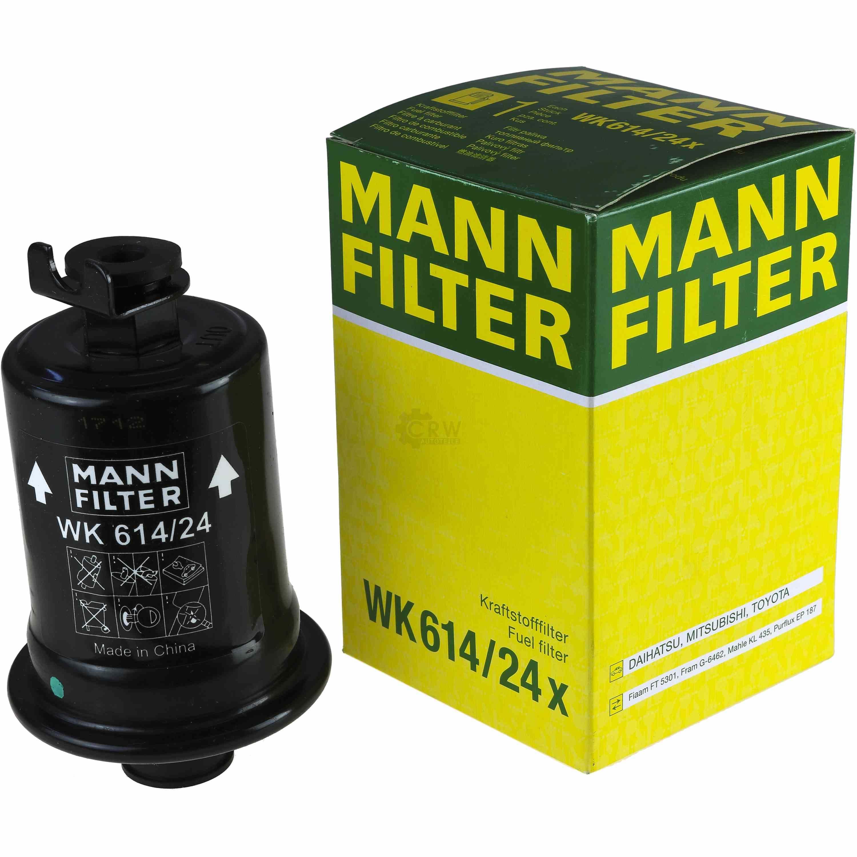 CARBURANTE Filtro MANN-FILTER WK 614//24 X