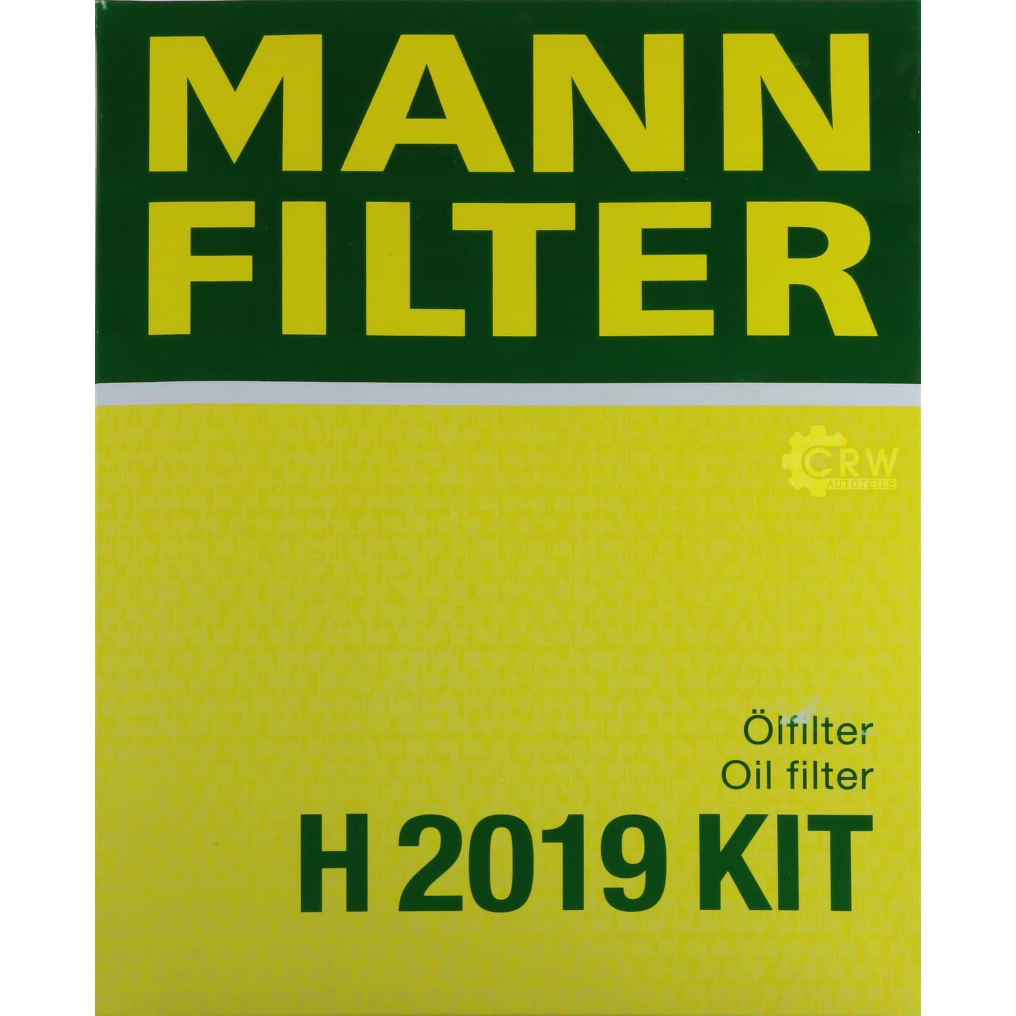 Mann H 2019 KIT Hydraulikfilter Automatikgetriebe für Audi Seat Skoda VW