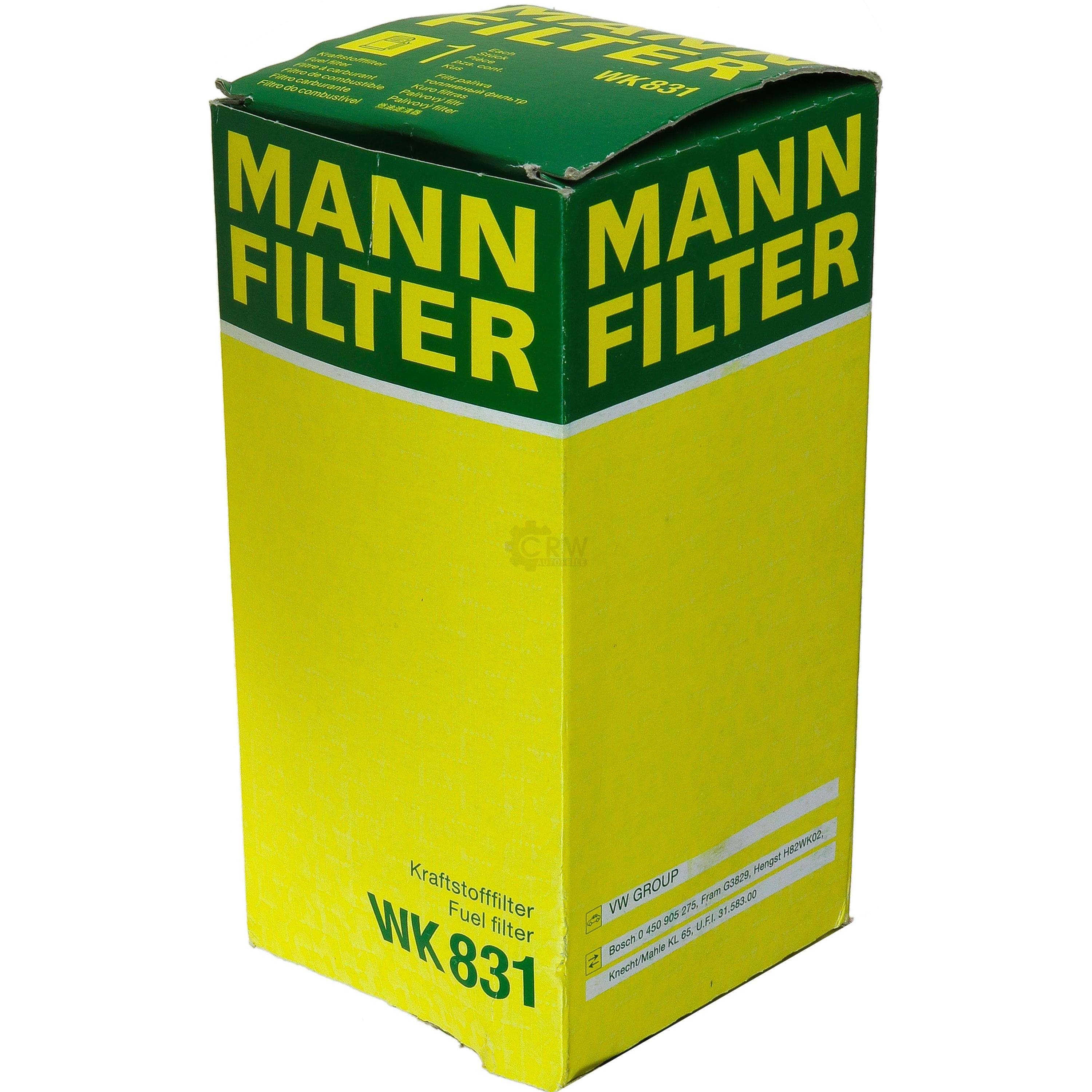 CARBURANTE Filtro MANN-FILTER WK 831