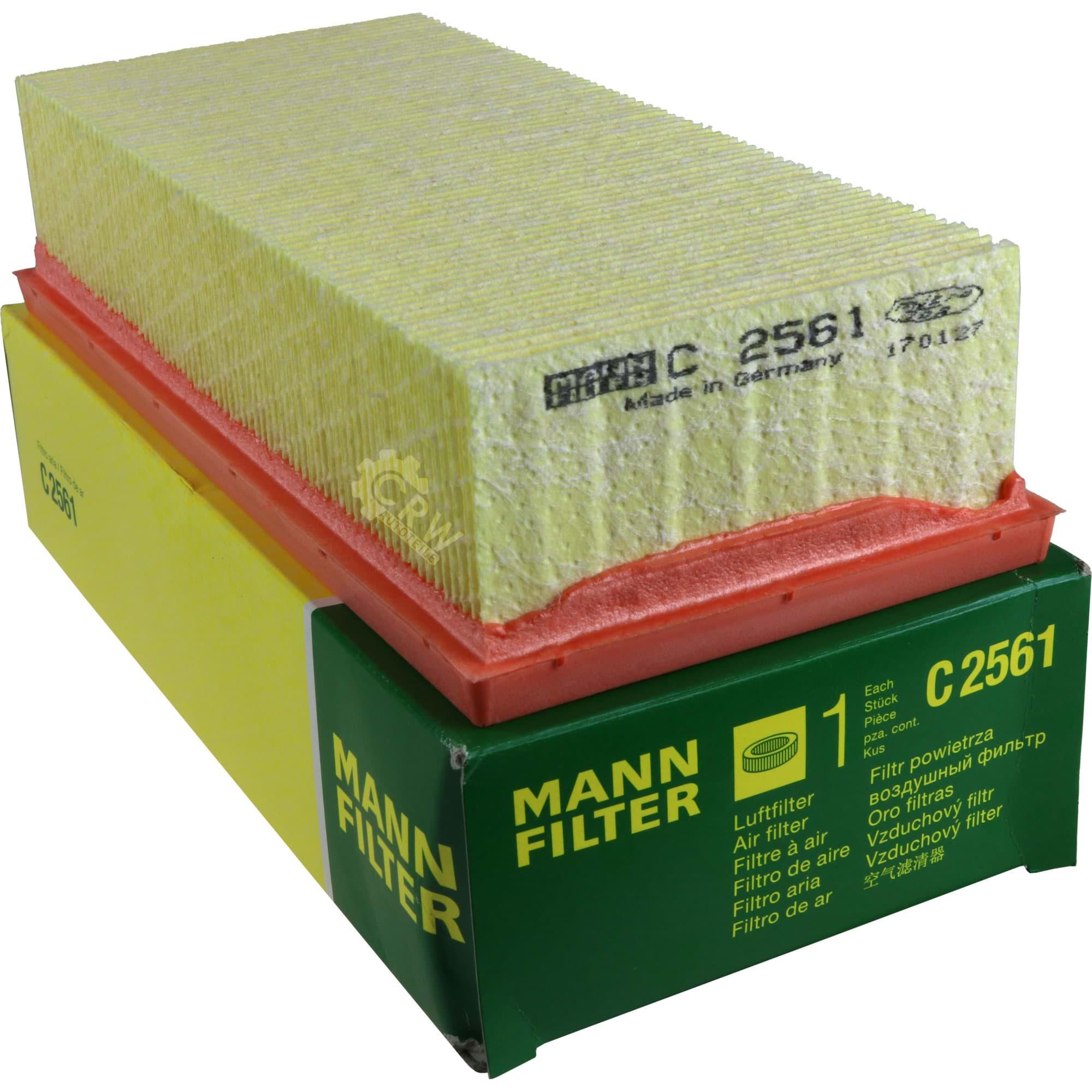 MANN-FILTER Luftfilter C 2561 für SMART MITSUBISHI