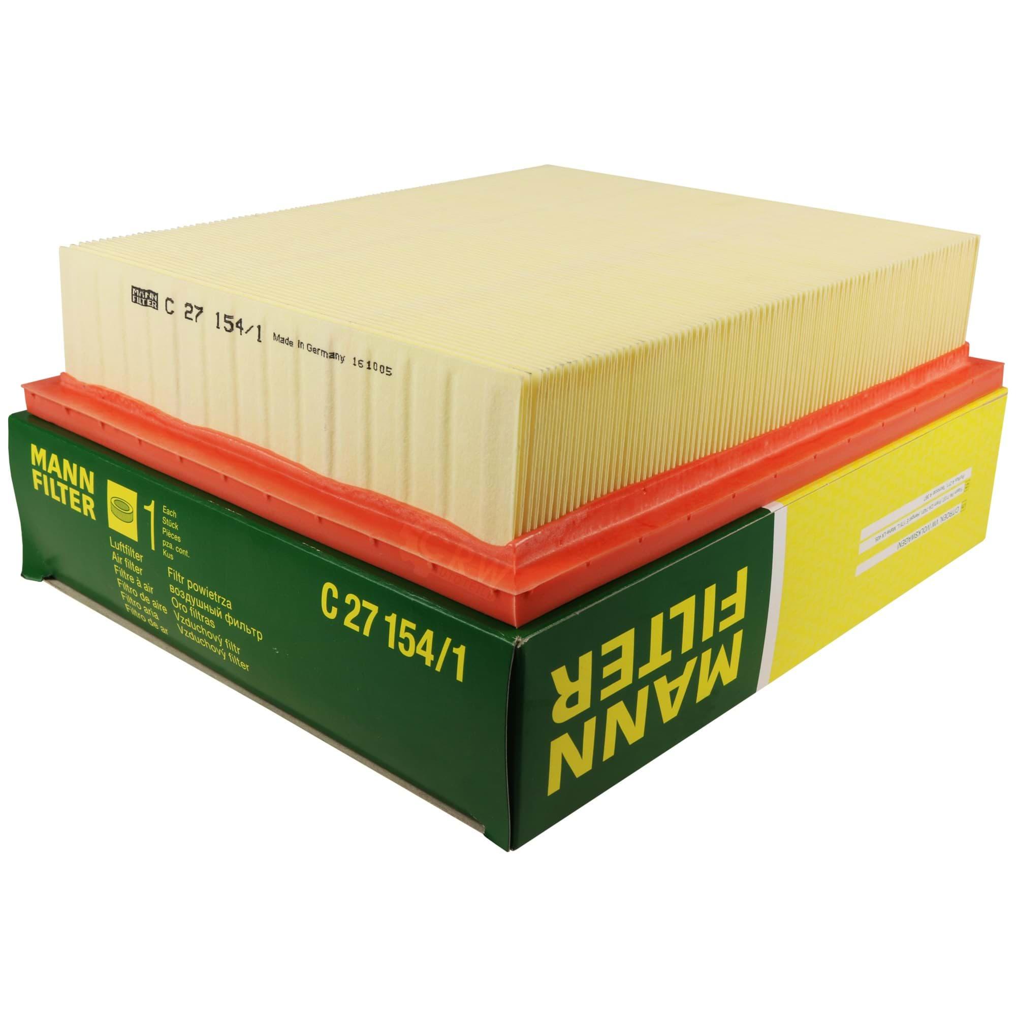 C 27 030 Filtro de aire filtro nuevo Mann-Filter
