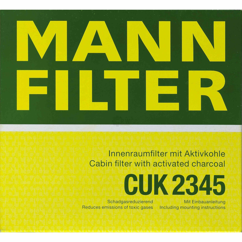 CUK 2345 Innenraumfilter Pollenfilter MANN-FILTER