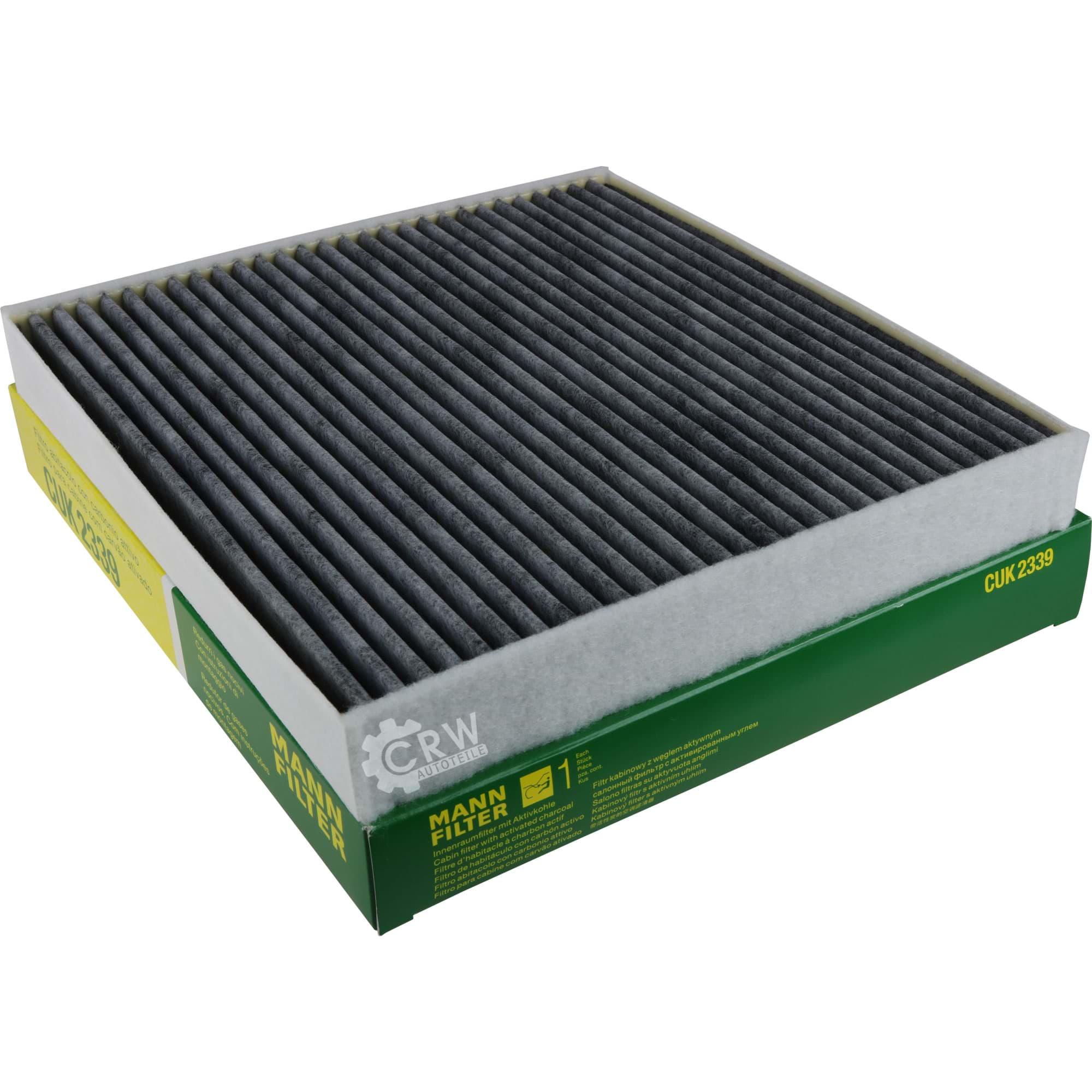 MANN-FILTER Innenraumfilter Pollenfilter Filter Innenraumluft CU 2339