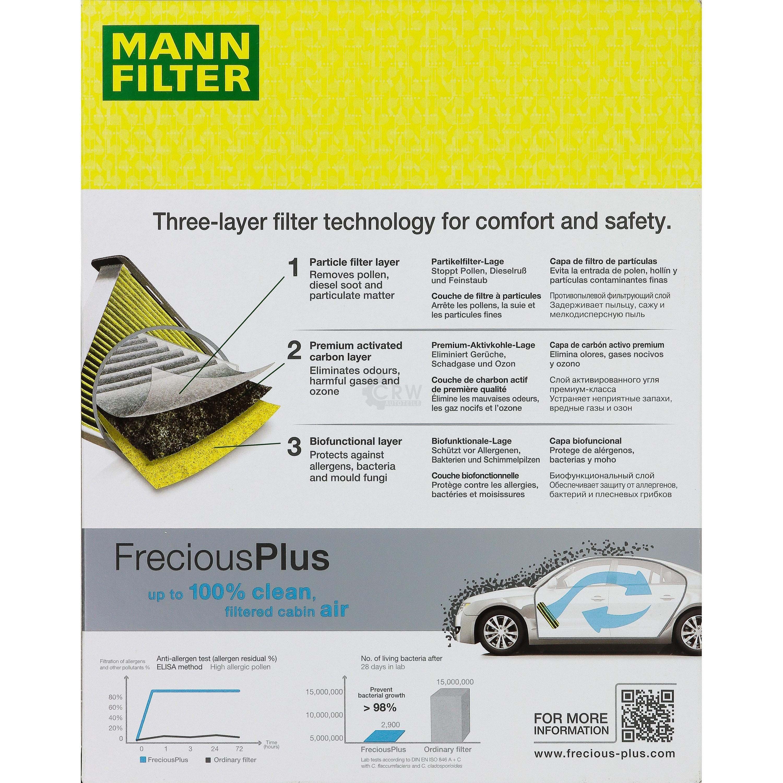 Innenraumluft MANN-FILTER FP 25 007 FreciousPlus FORD VOLVO 1 Filter