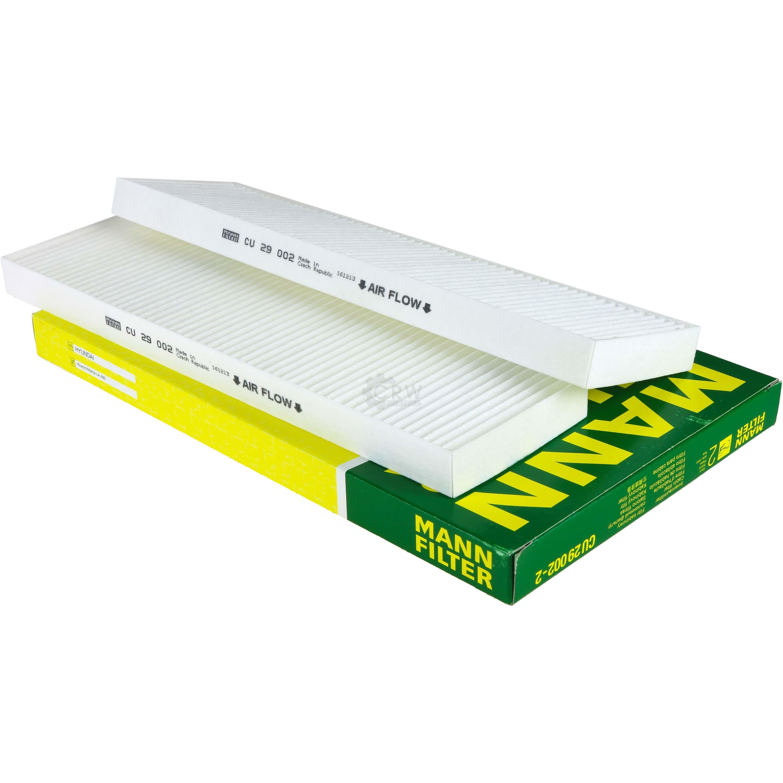 MANN-FILTER Innenraumfilter Pollenfilter Filter Innenraumluft CU 29 001