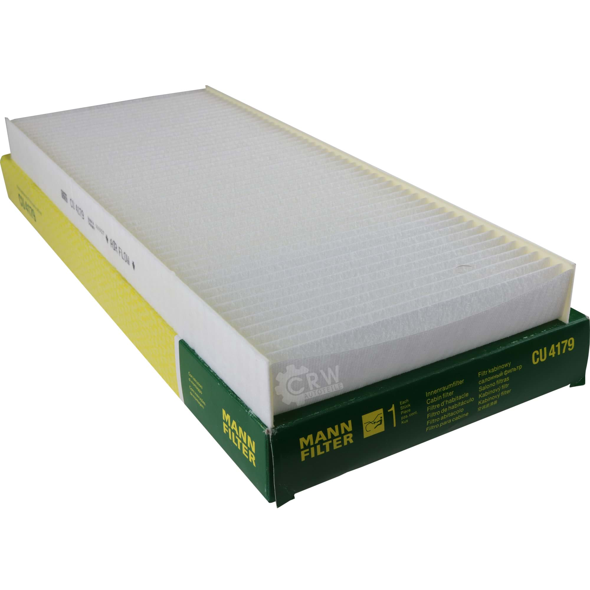Filter Innenraumluft MANN-FILTER CU 4179