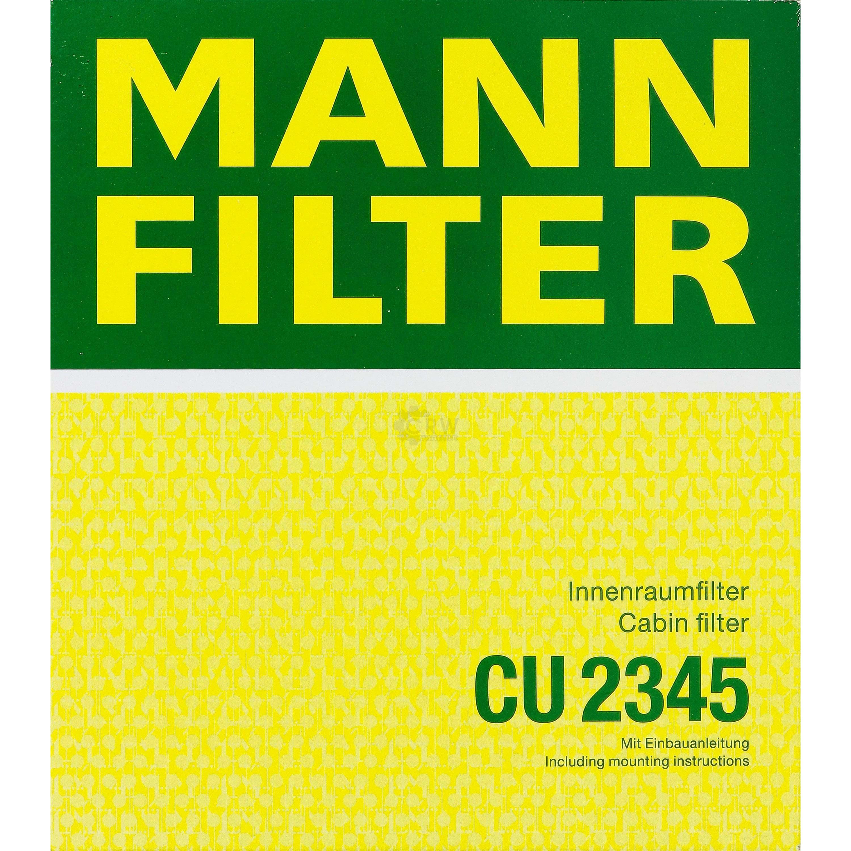 Innenraumluft Mann Filter CU2345 Filter