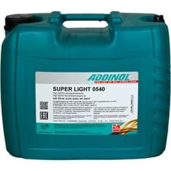 Bild von ADDINOL SUPER LIGHT 0540 Motoröl 5W-40 MB 229.5/226.5 VW 502 00/505 00 20 Liter